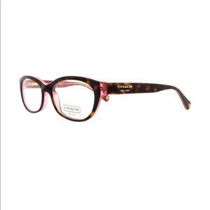 NWT Coach glasses HC6041 Tortoise/Pink NWT
